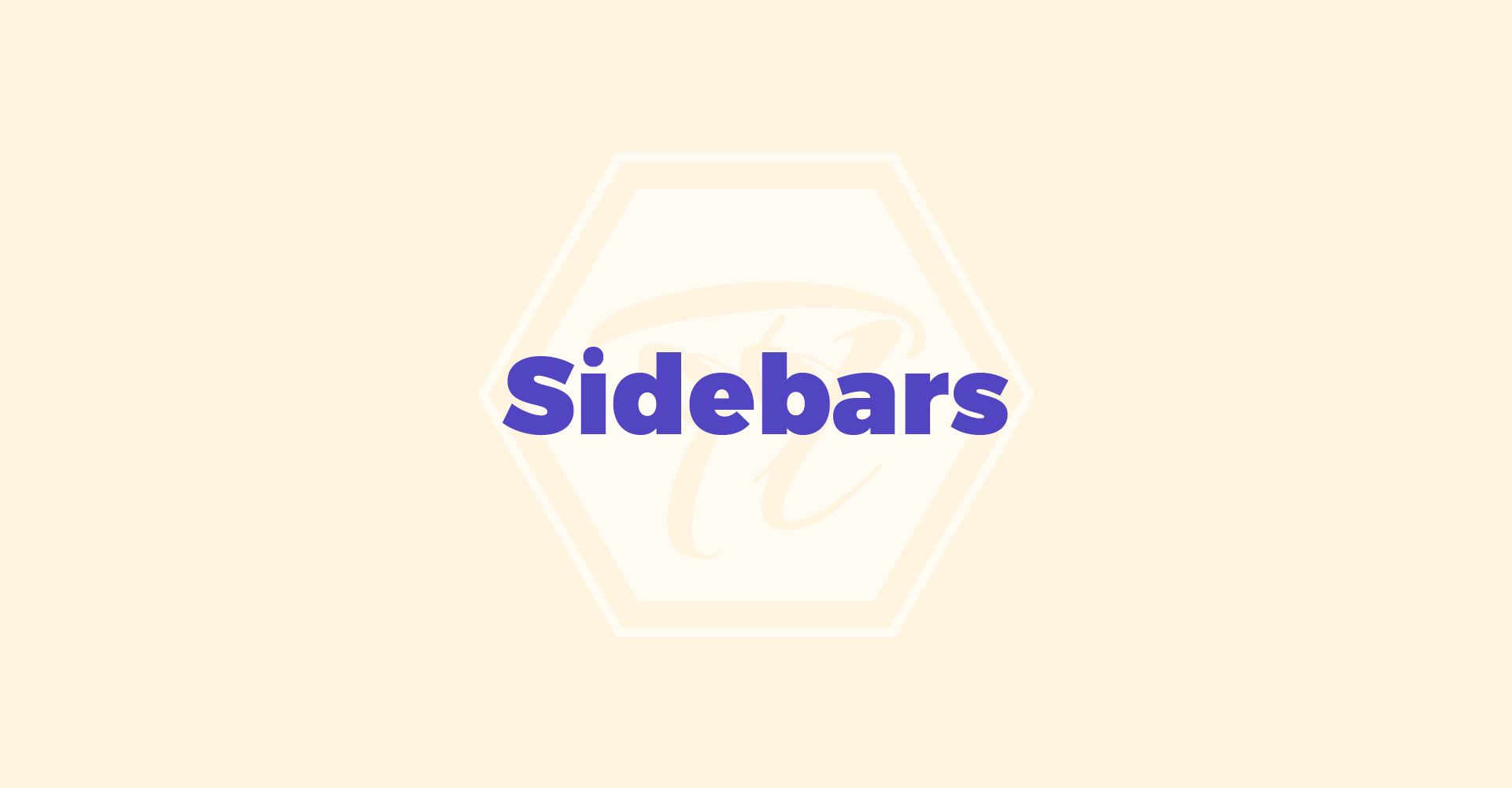 sidebars 3