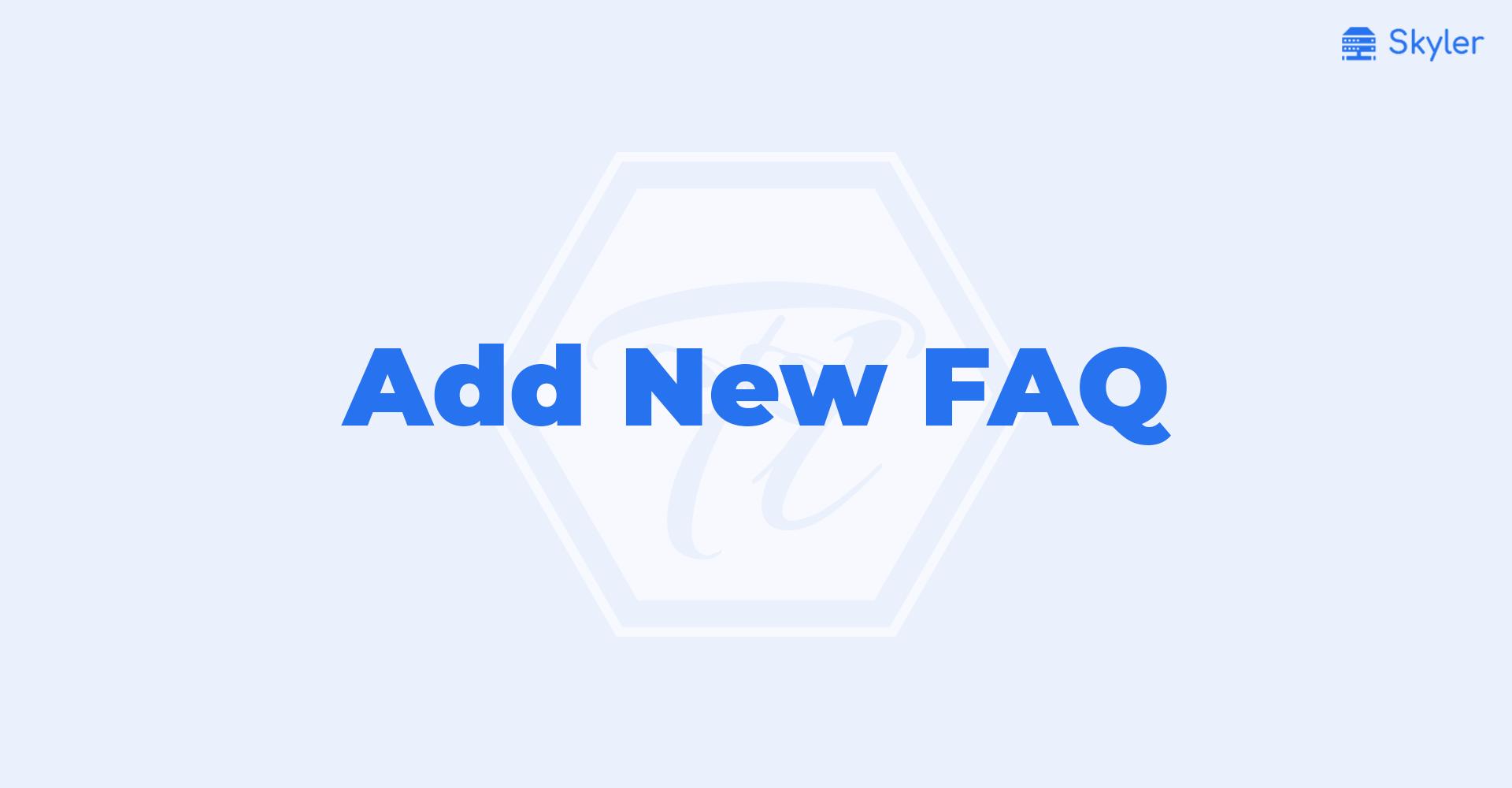 Add_New_FAQ