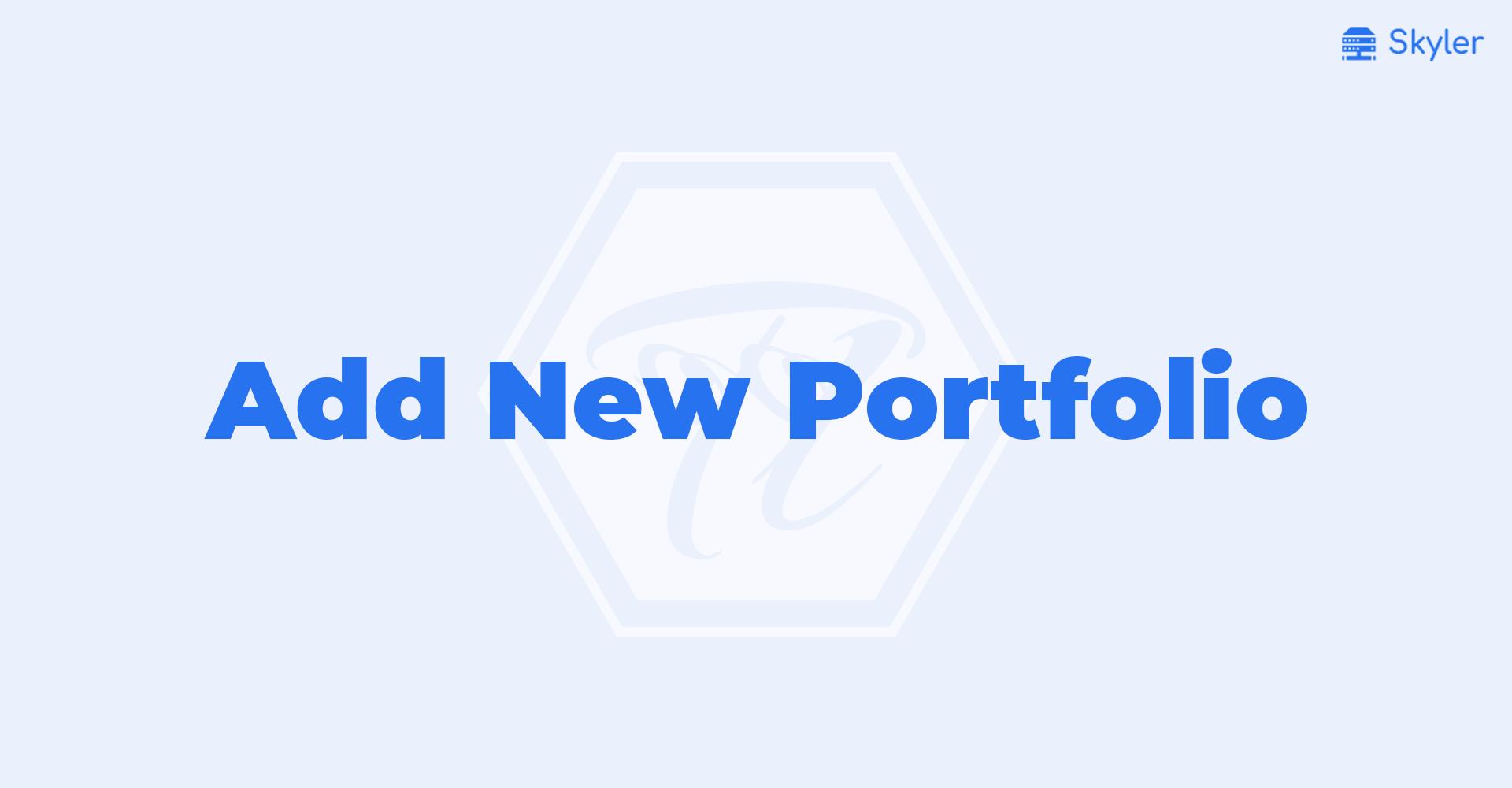 Add_New_Portfolio
