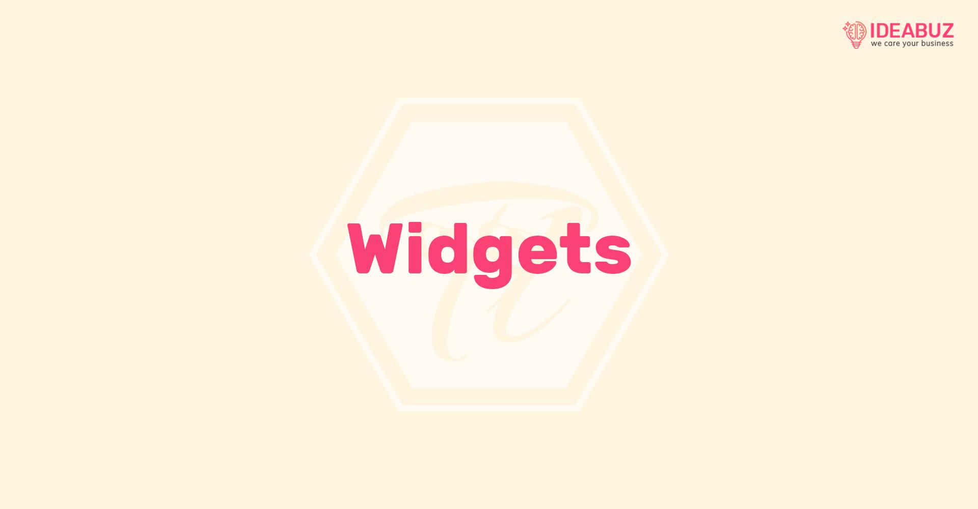 widgets 4