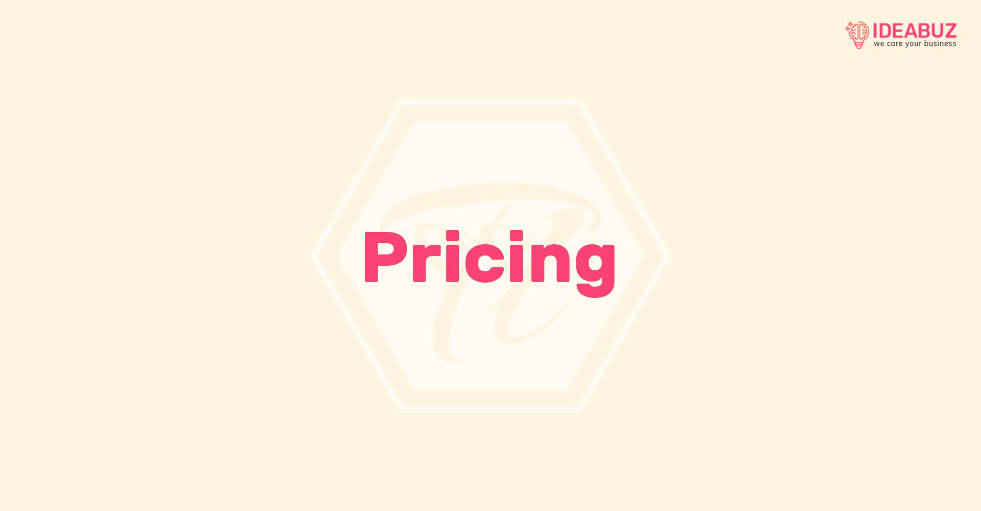 pricing 1