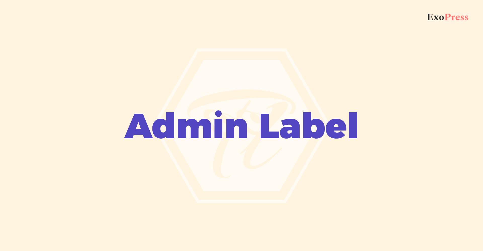 admin_label 1 2